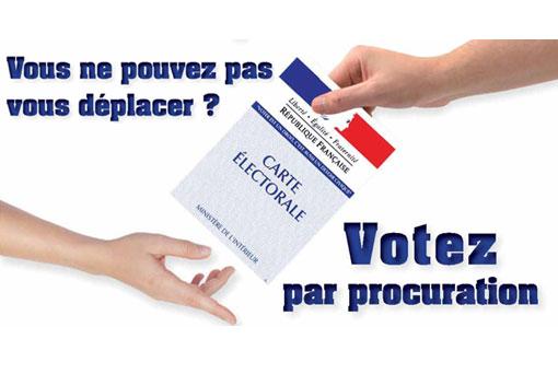 VOTE PAR PROCURATION VISUEL