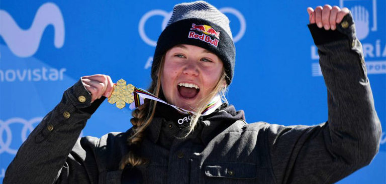 TESS LEDEUX MEDAILLE @ THE RIDER POST.FR
