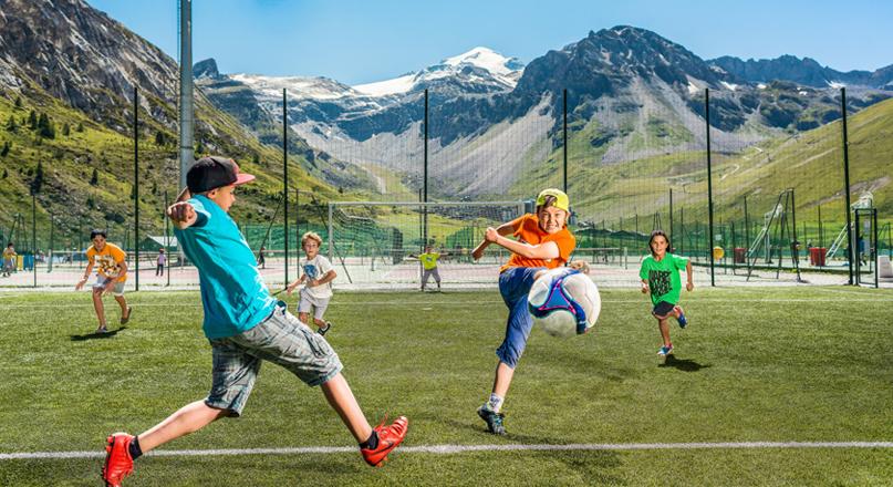 FOOTBALL VALCLARET KIDS @ TIGNES.NET