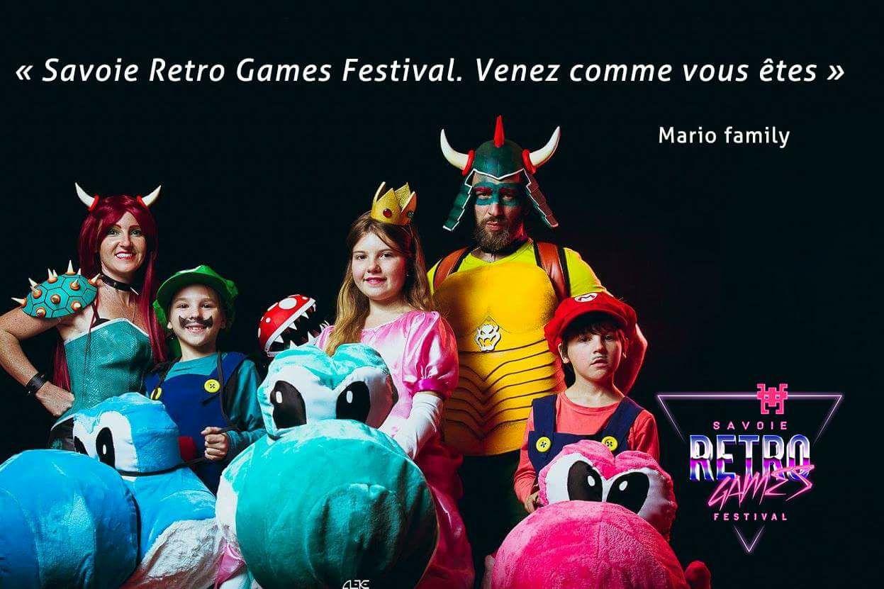 SAVOIE RETRO GAMES FESTIVAL 2017 MARIO FAMILY @ SAVOIE RETRO GAMES
