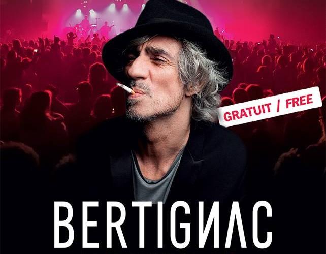 Live In Tignes Bertignac AFFICHE