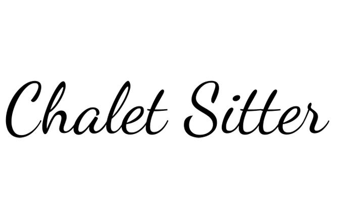 chalet sitter