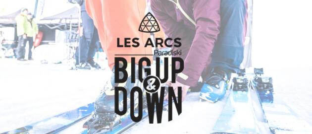 BIG UP & DOWN VISUEL @ LESARCS.COM