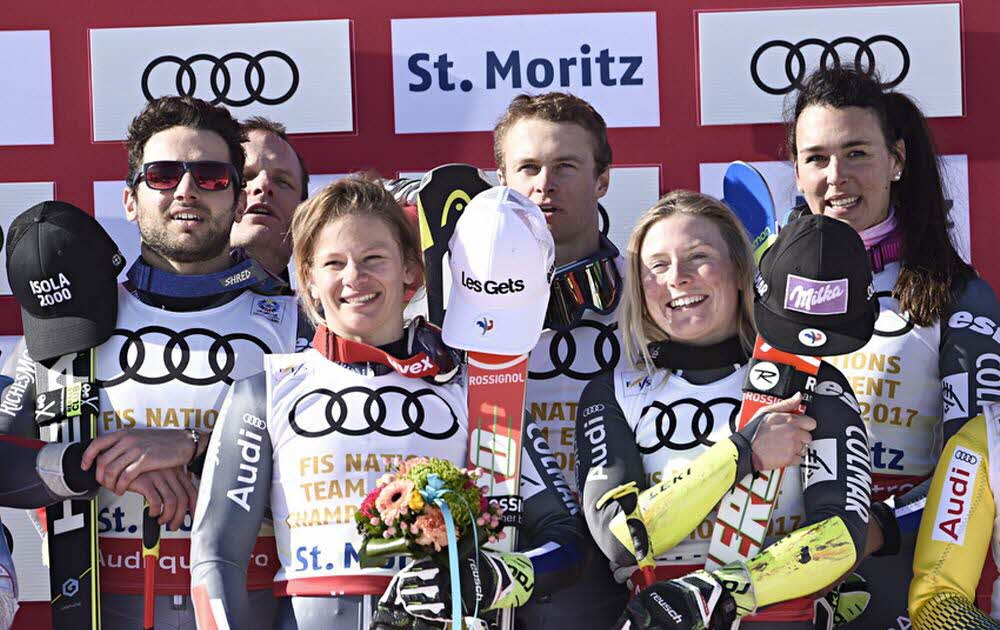 FRANCE TEAM EVENT SAINT MORITZ 2017 @ LEDAUPHINE.FR