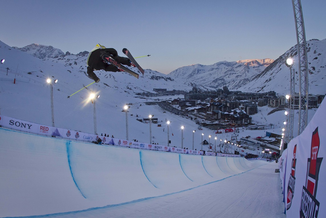 PIPE SFR FREESTYLE TOUR @ TIGNES.NET