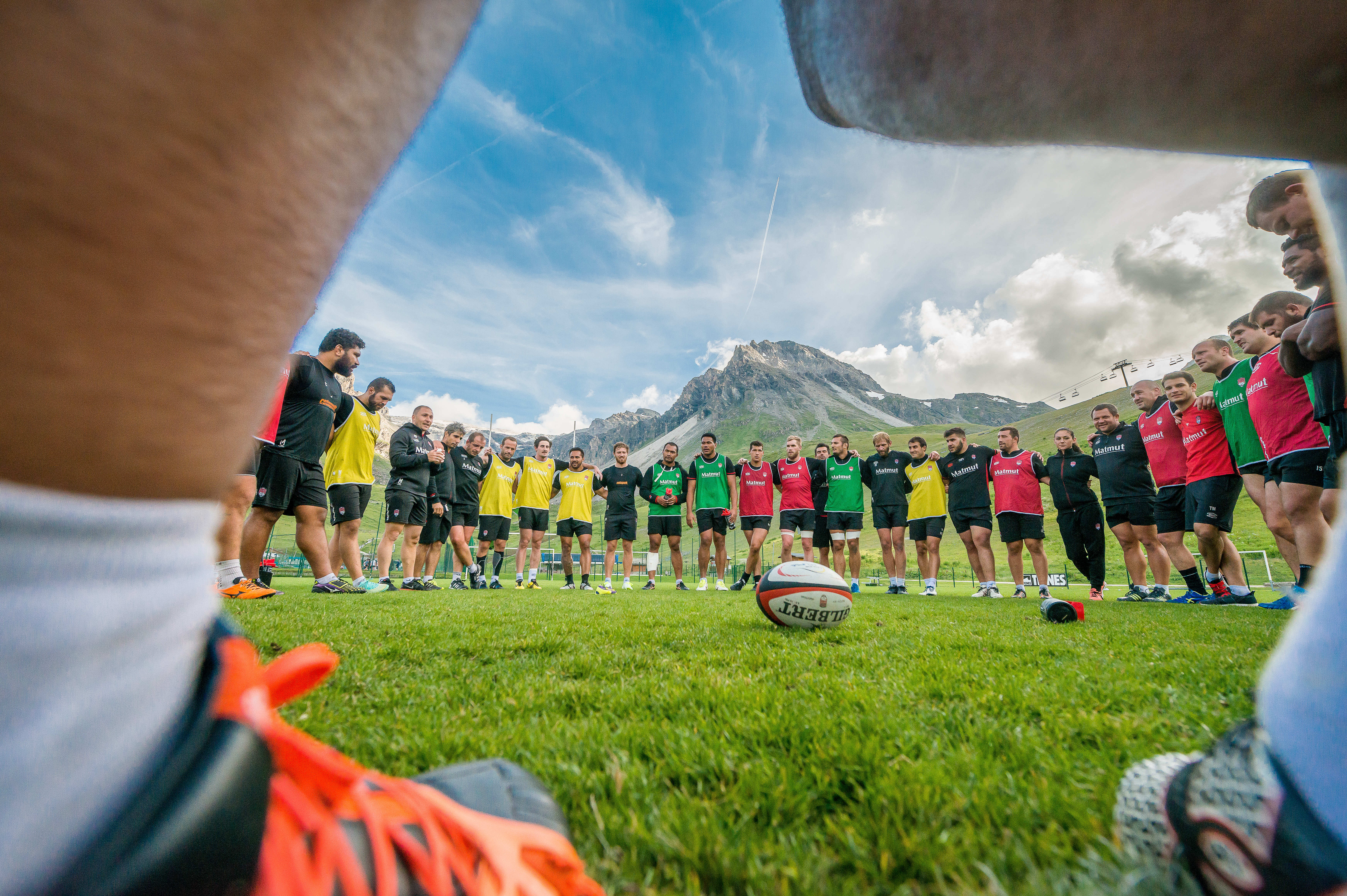 LOU RUGBY 2016 @ TIGNES.NET ANDY PARANT PHOTO