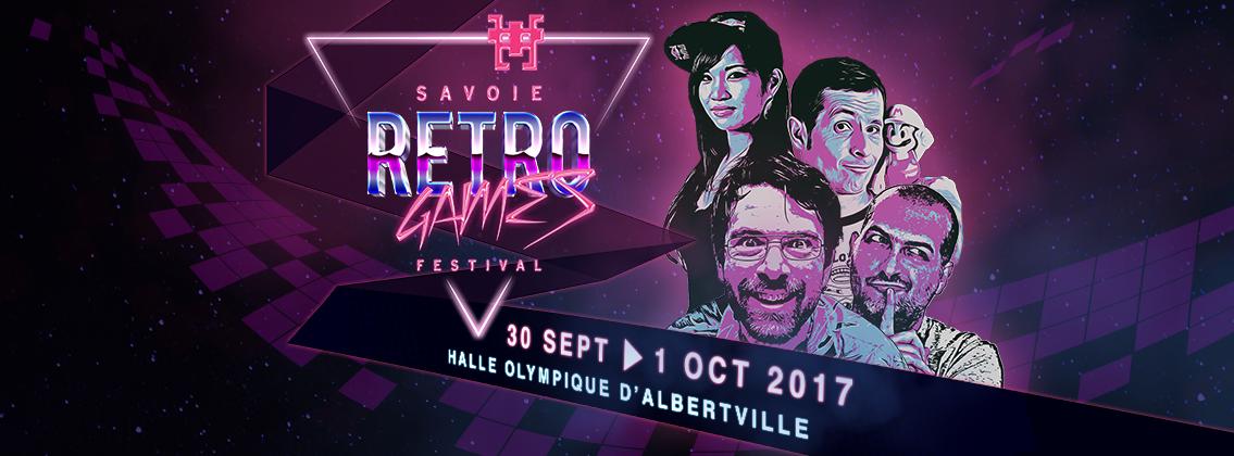 SAVOIE RETRO GAMES FESTIVAL 2017 VISUEL @ SAVOIE RETRO GAMES FACEBOOK