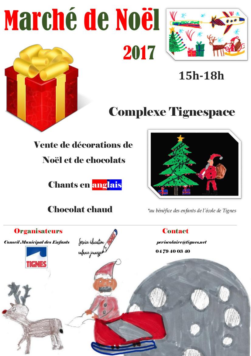 Marché de Noël affiche