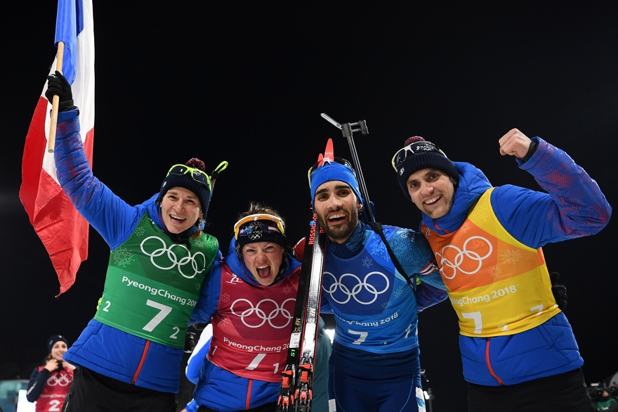 Biathlon - Winter Olympics Day 11