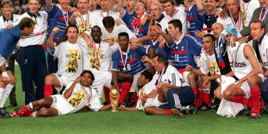 FRANCE 98 COUPE DU MONDE @ FRANCEINFO.FR