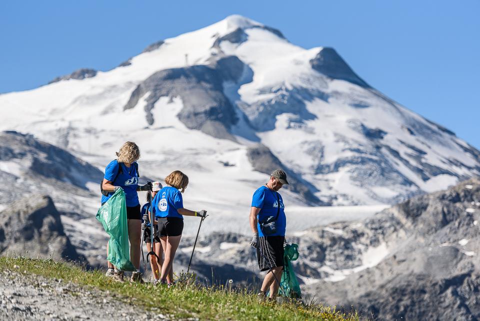 RESPECT THE MOUNTAINS GLACIER @ TIGNES.NET