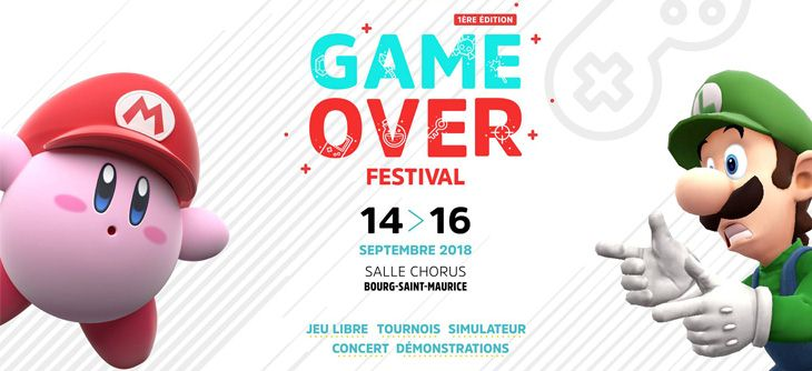 GAME OVER FESTIVAL 2018 VISUEL @ GAMEPLAY TARENTAISE