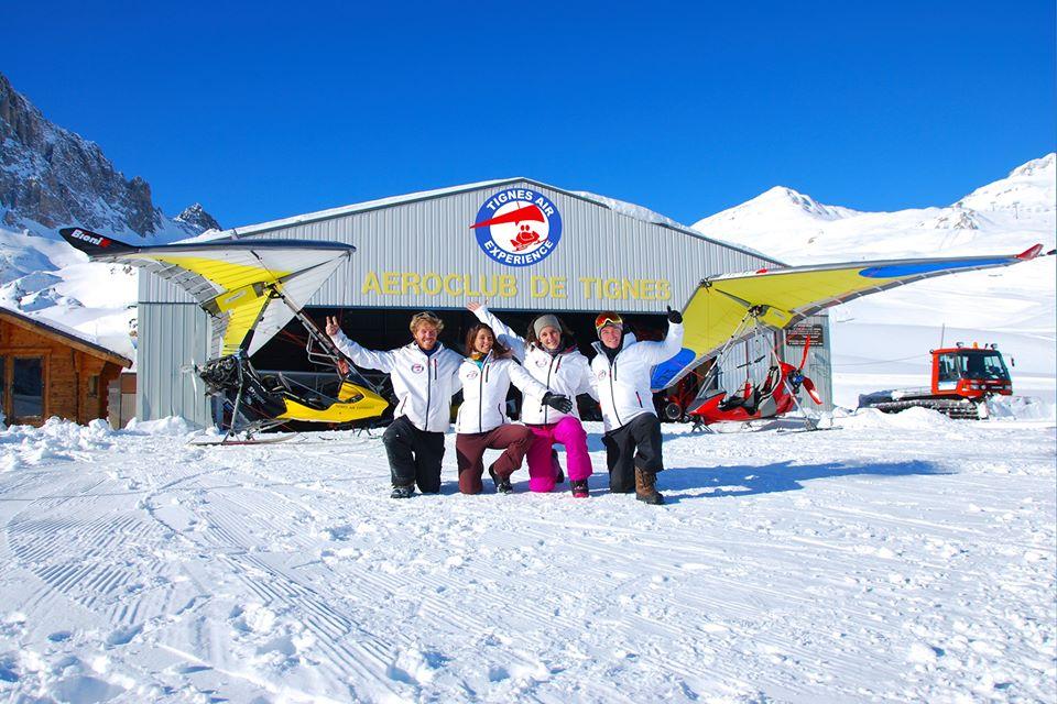 AEROCLUB TIGNES FRERE TOUSSAINT @ TIGNES AIR EXPERIENCE