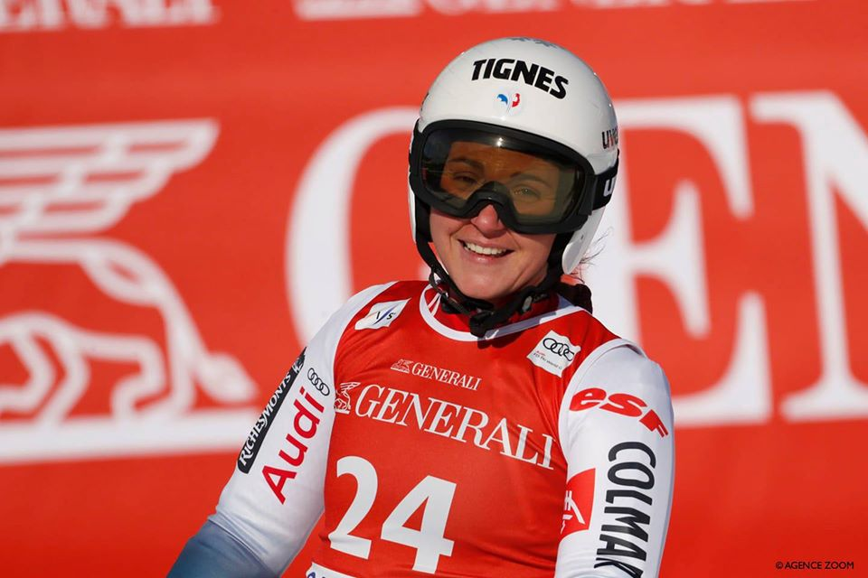 TIFFANY GAUTHIER GARMISCH 2020 @ CS TIGNES