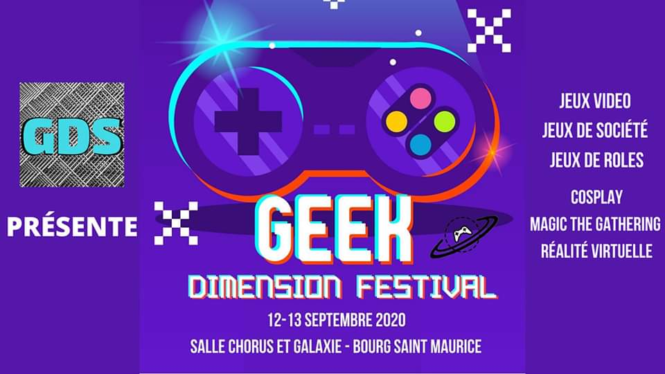 GEEK DIMENSION FESTIVAL @ VISUEL